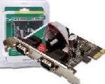Karta PCI EXPRESS 2x seriový port 9pin (DS09)